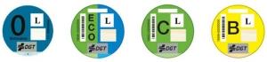 etiquetado medioambiental para motos